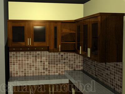 Kitchen Set Kayu Jati Jepara Cahaya Mebel Jepara