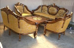 Kursi Tamu Sofa Monaco Mewah