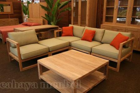 N 103 set kursi ruang tamu minimalis Kursi Tamu Minimalis Modern