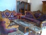 Kursi Tamu Sofa Barcelona Royal Jati