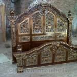Tempat Tidur Gebyok Mewah Jati