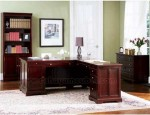 Meja Kantor Minimalis Sudut