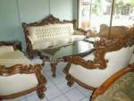 Sofa Tamu Royal Mewah Ukir Jepara