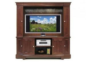 Lemari Tv Klasik Kayu Jati