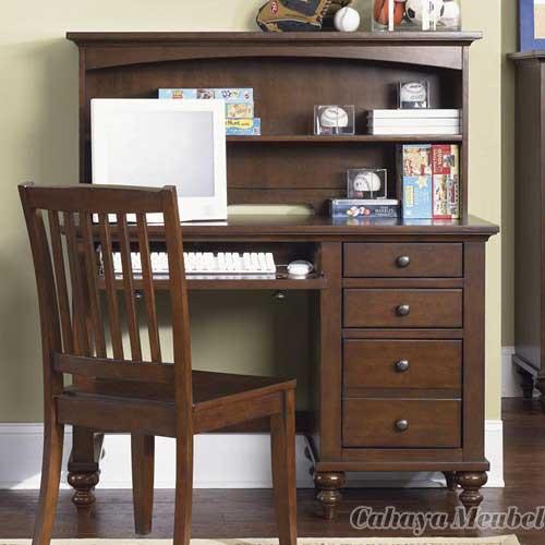 Meja Kerja Minimalis Jati, jual meja kerja minimalis, meja kantor minimalis modern, meja kantor modern kayu jati