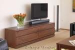 Bufet Tv Modern Jati