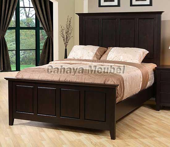 tempat tidur minimalis modern jati jual tempat tidur