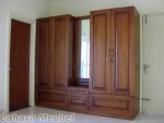 Lemari Pakaian Minimalis Mewah 5 Pintu