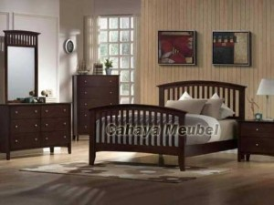 Furniture Kamar Tidur Set Minimalis Jati