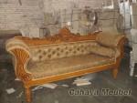 Sofa Santai Kayu Jati Jepara