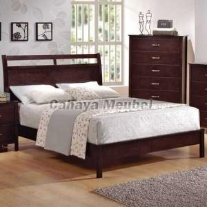 Tempat Tidur Minimalis Mebel Kayu Jati