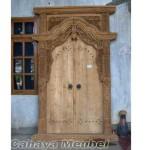 Pintu Gebyok Kayu Jati