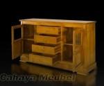 Bufet Minimalis Furniture Jati Jepara
