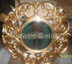 Pigura Klasik Gold Ukiran Jepara