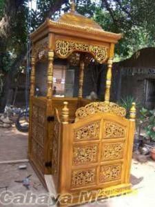 Jual Mimbar Masjid Ukiran Jepara
