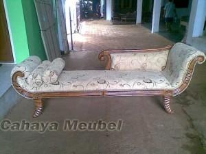 Bangku Sofa Santai Jati