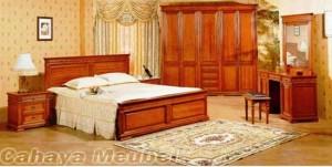 Set Kamar Tidur Mewah Mebel Minimalis