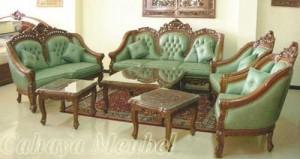 Sofa Tamu Mewah Ukir Furniture Jepara