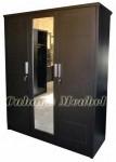 Lemari Pakaian 3 Pintu Minimalis Modern