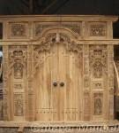 Pintu Gebyok 3 Meter Kayu Jati