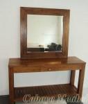 Meja Rias Minimalis Furniture Jati Jepara