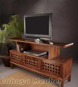 Rak Tv Klasik Modern Kayu Jati