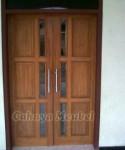 Pintu Rumah Minimalis Kayu Jati
