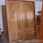 Pintu Rumah Mewah Kayu Jati Jepara