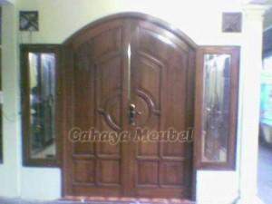 pintu kayu jati jepara minimalis pintu rumah minimalis