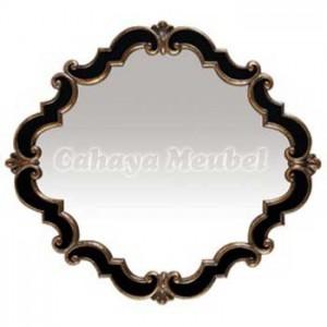 Frame Kaca Cermin Klasik Ukir