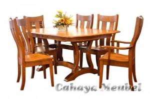Set Kursi Meja Makan Minimalis Furniture Jepara