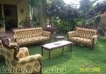 Set Sofa Ruang Tamu Klasik Kayu Jati