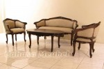 Set Sofa Ruang Tamu Klasik Jepara