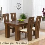 Set Meja Makan 4 Kursi Modern Furniture