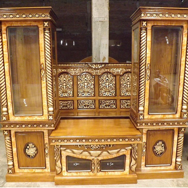 carved cabinets