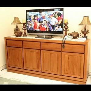 Bufet Tv Modern Jati Mebel Jepara