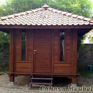 Gazebo Rumah Minimalis Jati