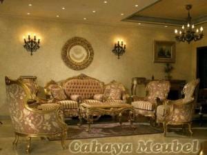Set Sofa Tamu Mewah Ukir Jepara
