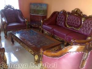 Sofa tamu Ghanesa Jati