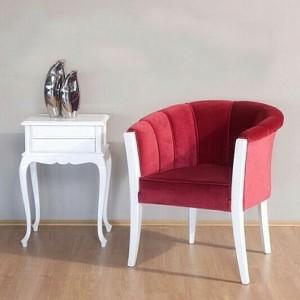 Set Kursi Santai Modern Duco Putih