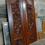 Pintu Rumah Ukir Kayu Jati