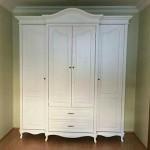 Lemari Pakaian 4 Pintu Duco Putih