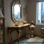 Meja Konsul Mirror Klasik Mewah
