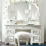 Meja Rias Minimalis Mewah Warna Putih