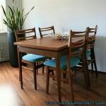 Meja Makan Modern Terbaru Jati