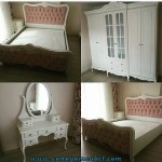 Kamar Set Minimalis Duco Putih Jepara