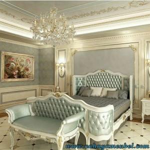 Set Tempat Tidur Mewah Jok Klasik