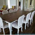 Set Kursi Makan Minimalis Duco Putih
