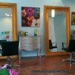 Set Mirror Klasik Mewah Gold