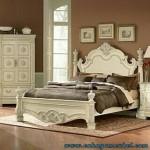 Tempat Tidur Mewah Warna Putih Duco